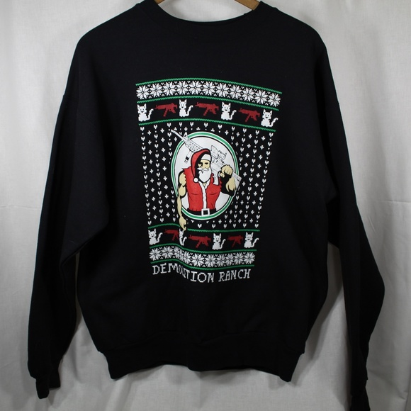 Demolition Ranch Christmas Sweater